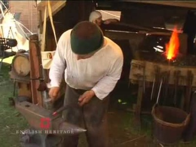 Arrowhead, Forging a medieval long bodkin - English Heritage