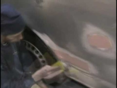 Auto Body Filler Application by LearnAutoPainting.com