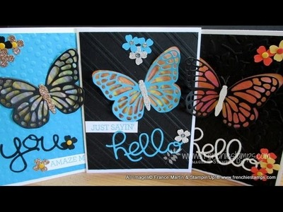 Butterfly Vellum Color Window