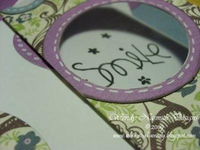 Card Tutorial - Circular Acetate Window card