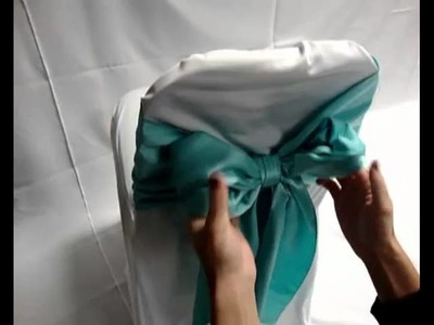 Chair Cover Bow Tie