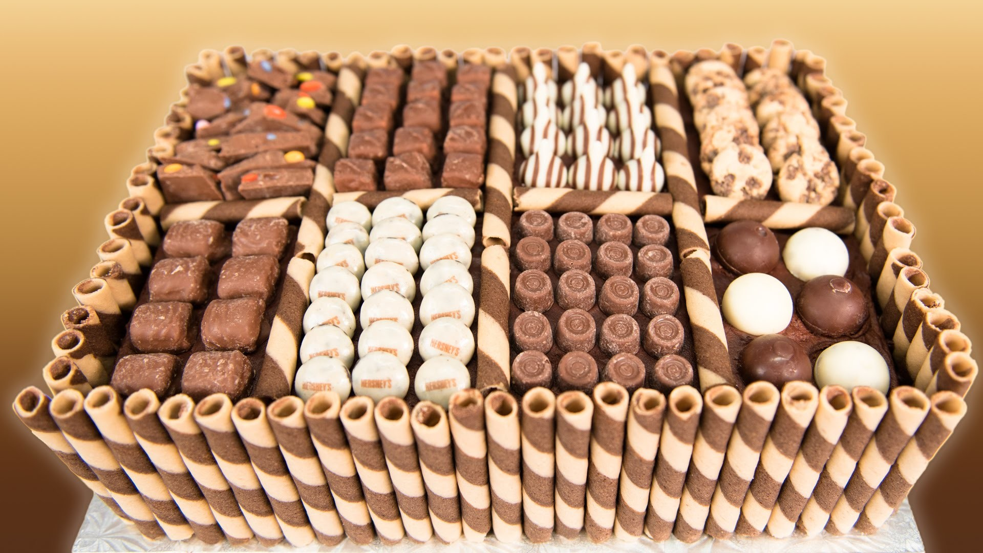 Chocolate Box Cake from Cookies Cupcakes and Cardio