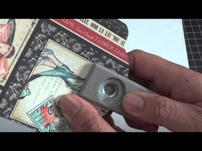 Covering the Graphic 45 Staples Tag - Tutorial!