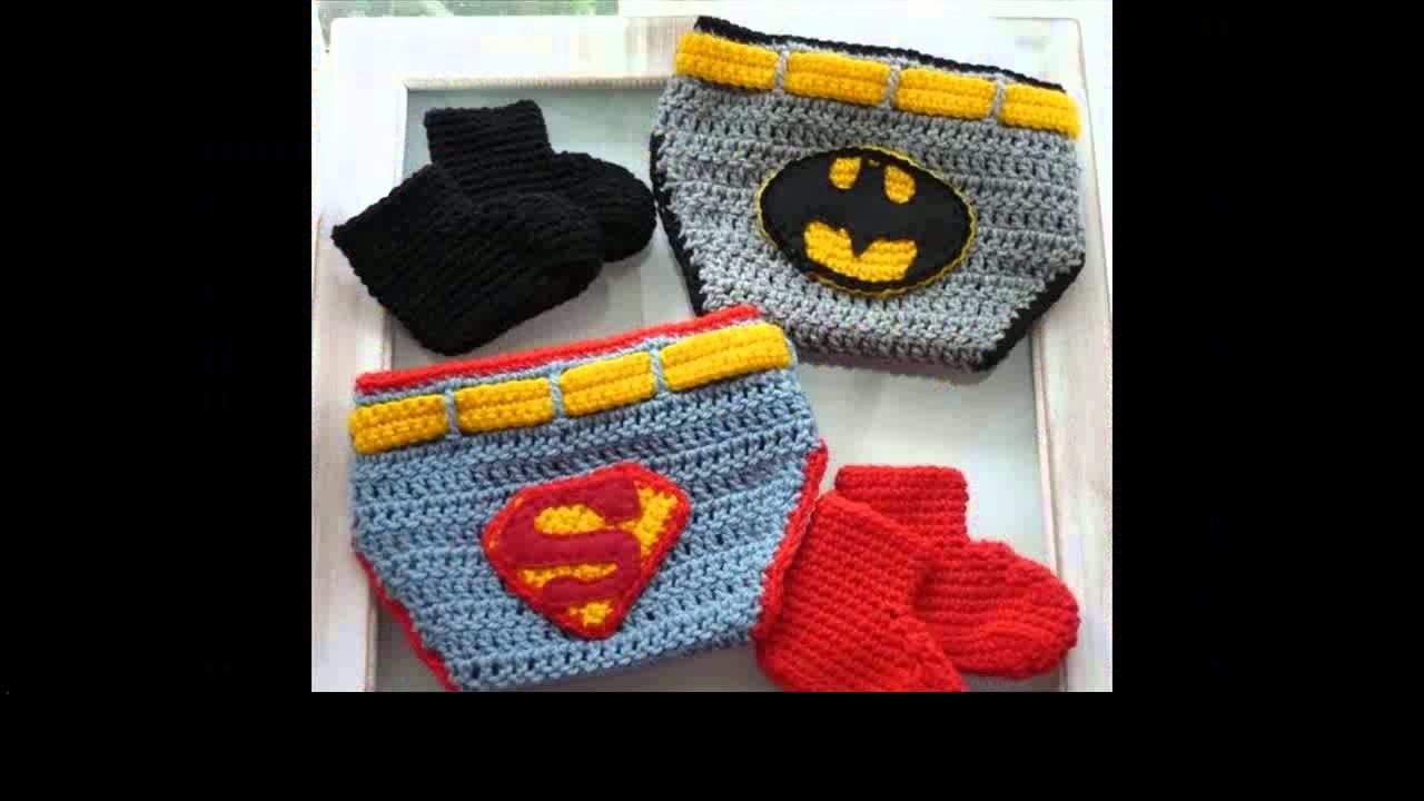 Crochet patterns diaper cover