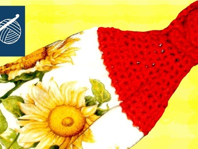 CROCHET TOWEL TOPPER Left Hand Crochet Geek