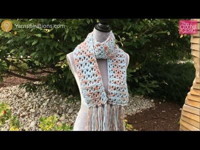 Crochet Uplands Scarf Tutorial