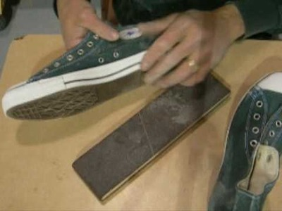 Distressing Converse Chuck Taylor All Stars part 2