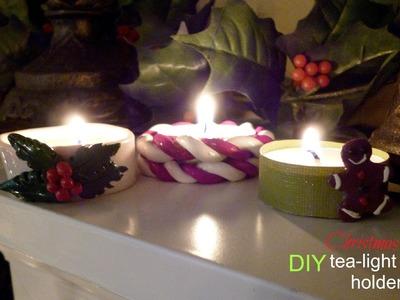 DIY Christmas Tea-Light Holders