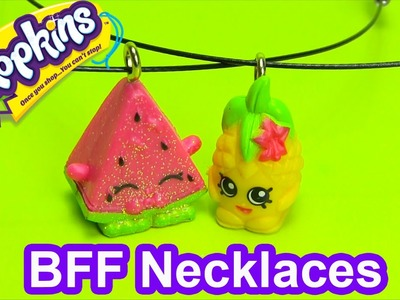 DIY How to Make Shopkins BFF Necklace