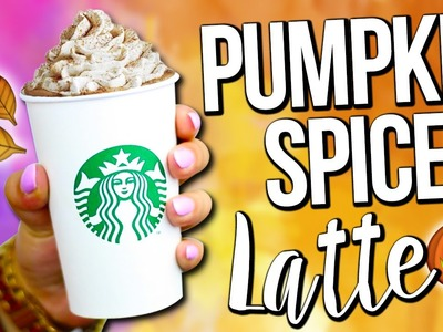 DIY STARBUCKS FALL DRINK ♥ PUMPKIN SPICE LATTE - EASY!
