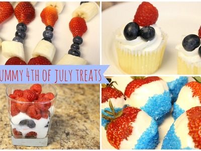 ♥ DIY Yummy 4th of July Treats- Collab with TaYa ♥