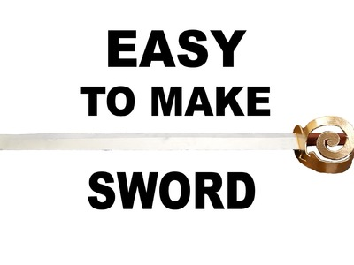 Easy to make Sword from ASSASSINS CREED 4