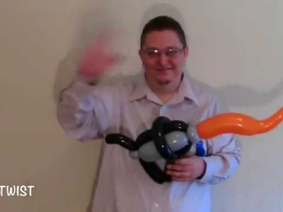 Flamethrower Balloon | ChiTwist Chicago Balloon Twisting