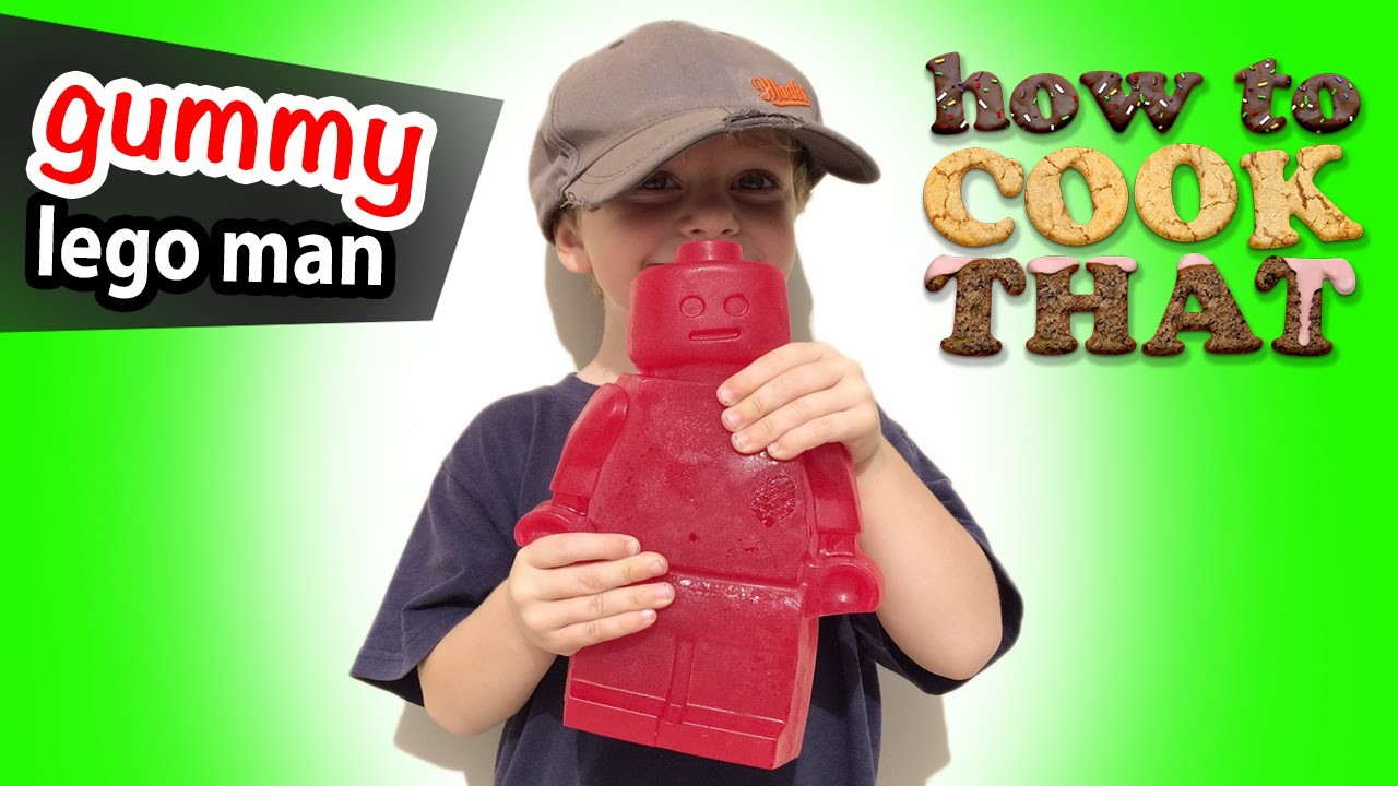 GIANT GUMMY BEAR RECIPE How To Cook That Ann Reardon
