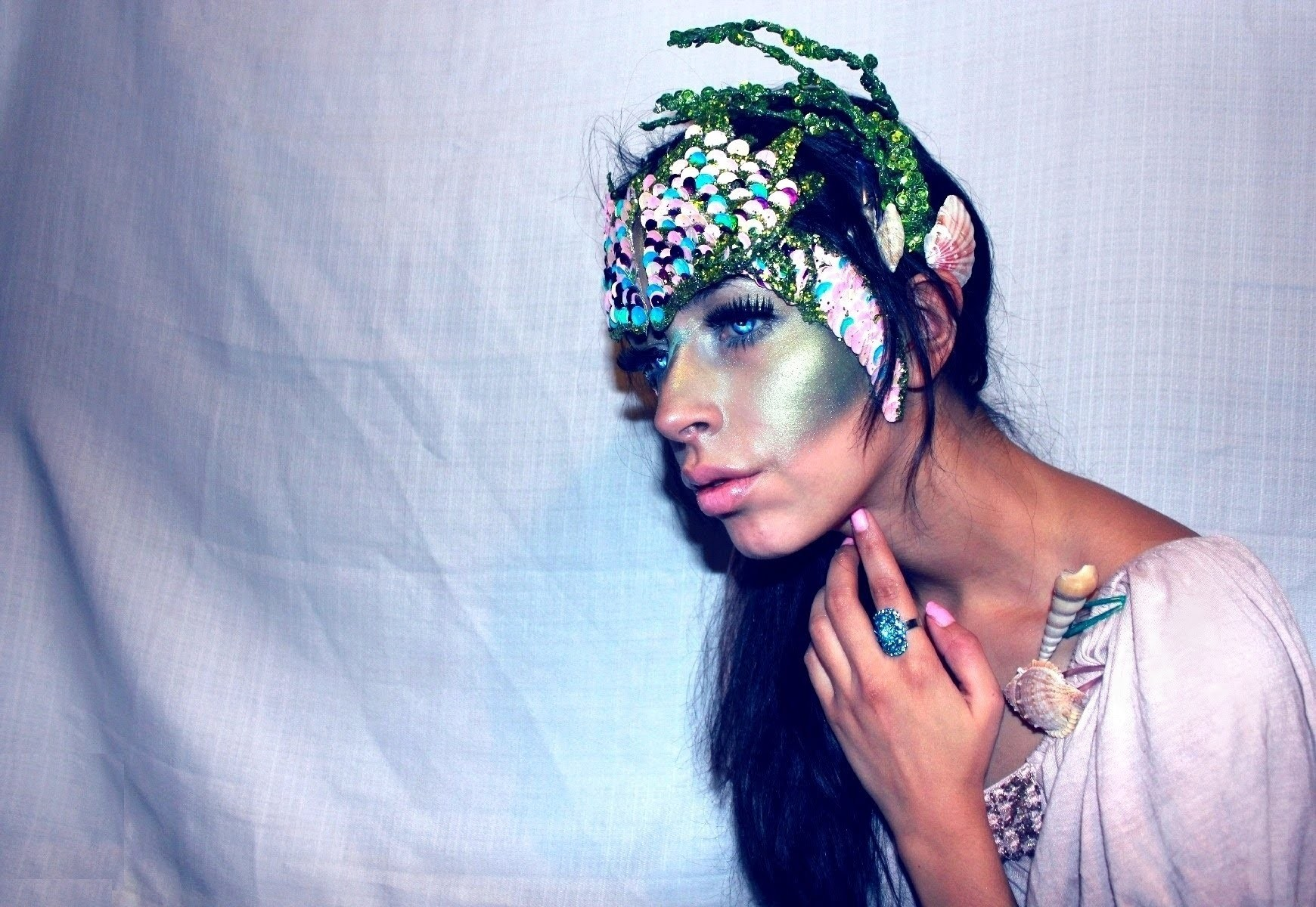 Halloween Makeup Mermaid