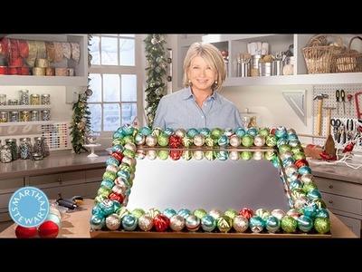 Holiday Decorated Ornament Mirror - Martha Stewart