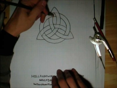 How to Draw Symbols - Triquetra (Trinity Knot)
