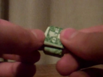 How to make a dollar ring out of a 1 dollar bill.