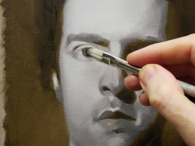 How to paint a Portrait in Oils - Time-Lapse Self Portrait Course