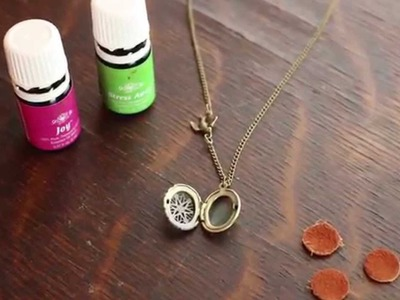 How to Use a Diffuser Necklace with Essential Oils