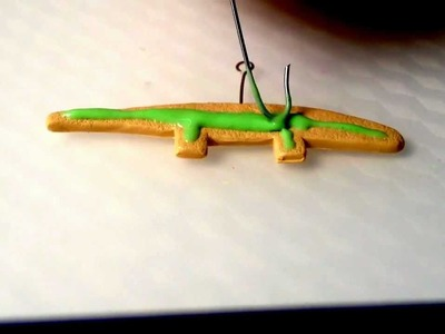 Kawaii Alligator Cookie Tutorial!