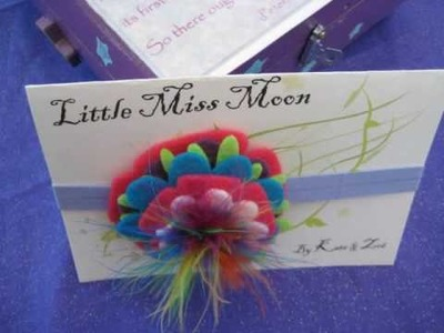 Little Miss Moon's Etsy shop - Fraggle Flower Collection