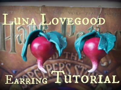 Luna Lovegood Earrings Tutorial