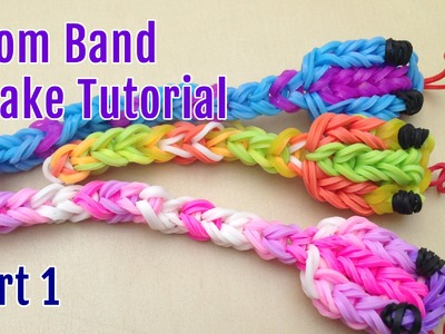 Making a loom band snake tutorial (Part 1)