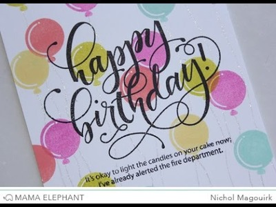 Mama Elephant August 2015 Stampede | Birthday Wishes