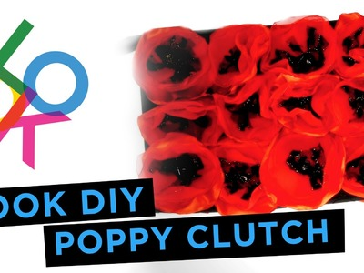 Memorial Day Poppy Clutch: LOOK DIY