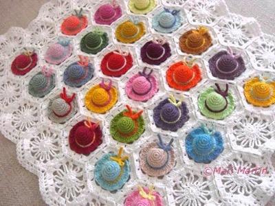 Modern Bohemian Baby Blanket Crochet Pattern