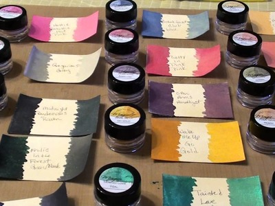 My Love Affair with Lindy's Stamp Gang Magical Micas continues. .