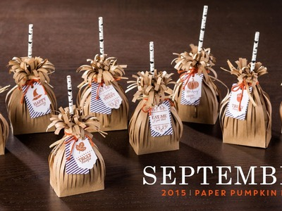 Paper Pumpkin September 2015