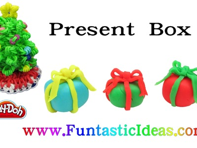 Play Doh Present.Gift Box - How to with playdough