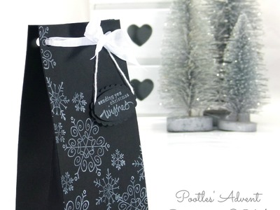 Pootles Advent Countdown Endless Wishes Bag Tutorial