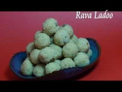 Rava Ladoo Recipe - Indian Mithai