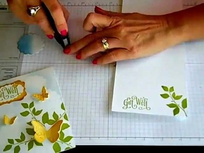 Simply Simple FLASH CARD Butterflies by Connie Stewart