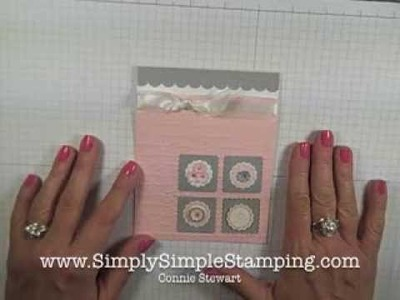 Simply Simple FLASH CARDS 2.0 - Soft & Sweet Card by Connie Stewart
