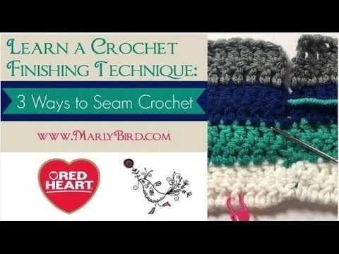 Three Ways to Seam Crochet