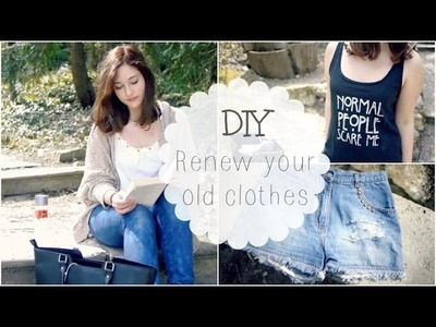 Upcycle your old clothes :).Spring DIY #1