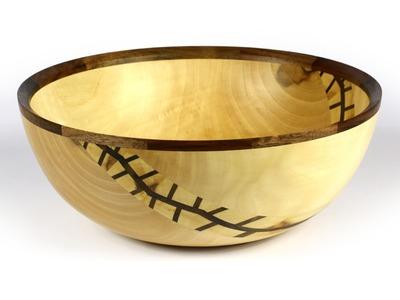 Wood Turned Maple Bowl