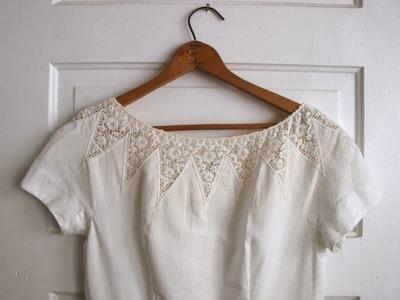 (14) Lace Crochet Clothes Dress Models Patterns Designs New Fashion