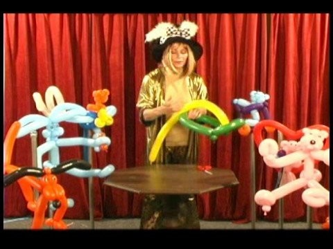 Advanced Balloon Twisting : Balloon Twisting a Baseball Cap