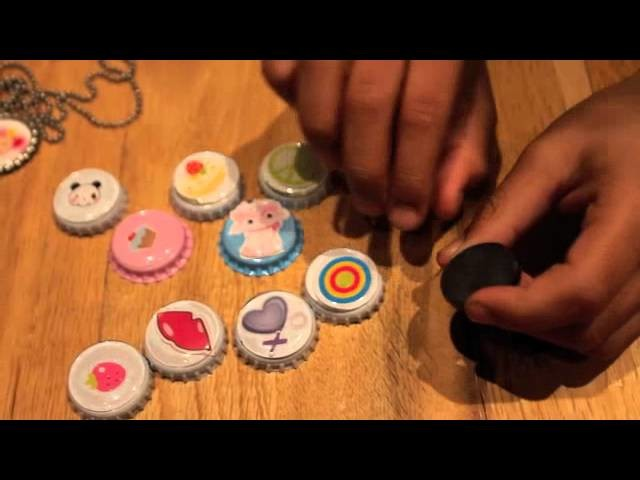 Bottle Cap Jewelry Tutorial!