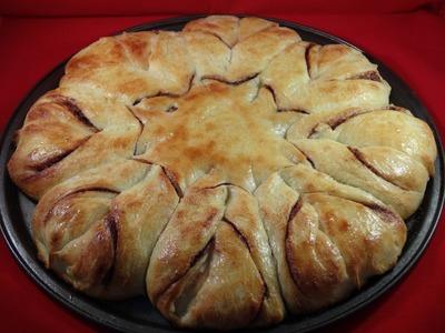 """Braided Nutella """"Star"""" Bread - with yoyomax12"""