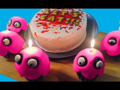 Cake and Cupcakes from FIVE NIGHTS @ FREDDY'S w. Feast of Fiction