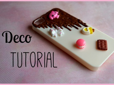 Chocolate Decoden Tutorial Phone Case Ft. Blippo