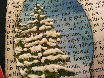 Christmas 2013: Card 3 Sleigh Scene