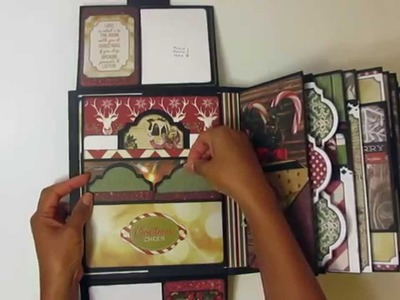 Christmas Mini Album ~ My Design Mini Xmas Album