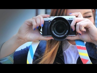DIY Fashion | Colorful Camera Strap | Designer DIY